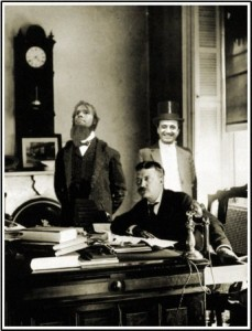 Frederico Meets with President Roosevelt